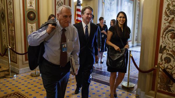 Former Sen. Jon Kyl has been shepherding Supreme Court nominee Brett Kavanaugh through the Senate.  Kyl will return to the chamber, succeeding the late John McCain.