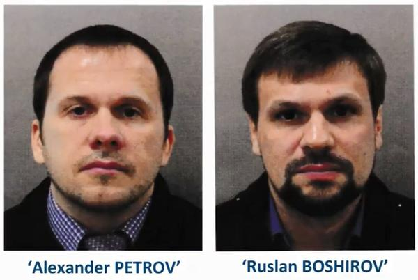 "Two Russian men are accused of attempting to kill former KGB agent Sergei Skripal on March 4 — the same day they flew to Moscow. ""We have no evidence that they re-entered the U.K. after that date,"" says Assistant Commissioner Neil Basu of the U.K.'s counterterrorism force."