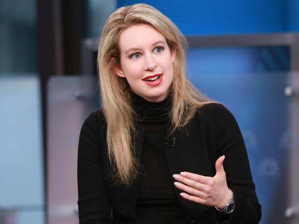 Theranos, the blood testing startup accused of an elaborate fraud, told shareholders it will be shutting down. Founder and former CEO Elizabeth Holmes is facing criminal charges.