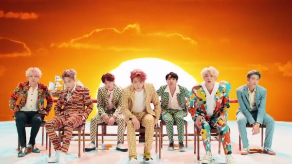 BTS's new album is <em>Love Yourself: Answer</em>.