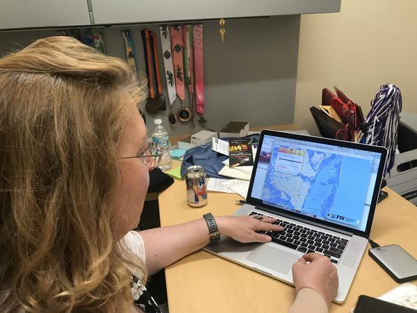 Susan Jacobson is a co-creator of the Eyes On The Rise app, which allows users to enter their addresses and see how sea-level rise might impact their neighborhoods.