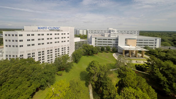 The Mayo Clinic Florida campus in Jacksonville.