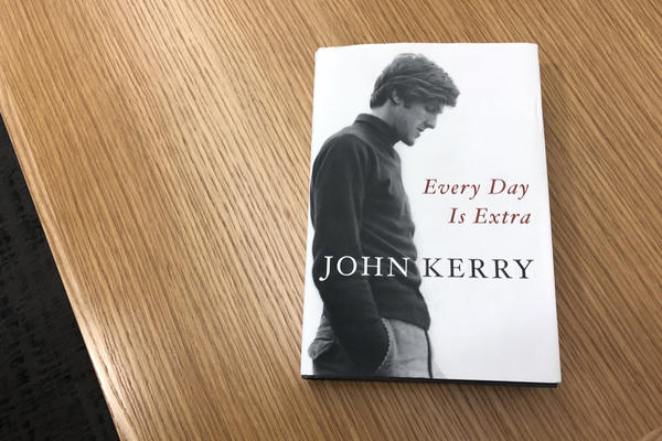 """Every Day is Extra"" by John Kerry. (Alex Schroeder/On Point)"