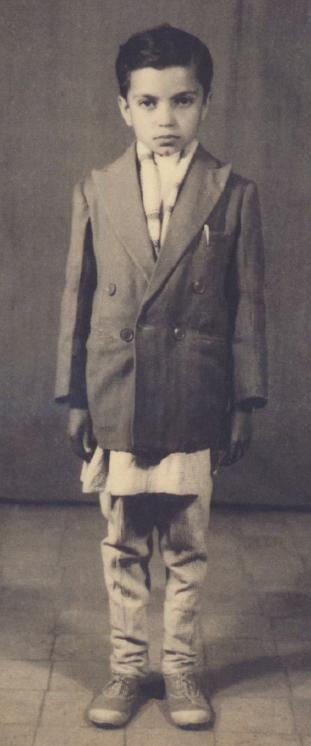 At 10 years old in Kathmandu.