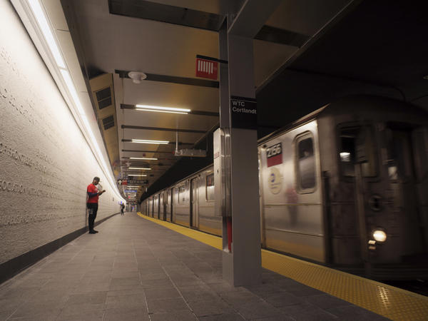 WTC Cortlandt subway station reopened in New York on Saturday, nearly 17 years after it was destroyed during the terrorist attack on the World Trade Center on Sept. 11, 2001.