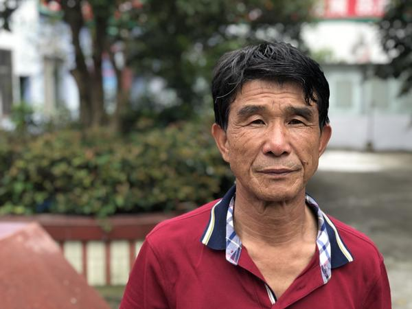 Farmer Gao Yongfei owns a herd of 5,500 pigs in the town of Yueqing, in China's southeastern Zhejiang province. Farms near his have lost hundreds of pigs to the African swine fever.