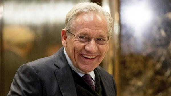 "Author Bob Woodward says of his sources, ""There's a lot of conscience and courage in this — people speaking up."""