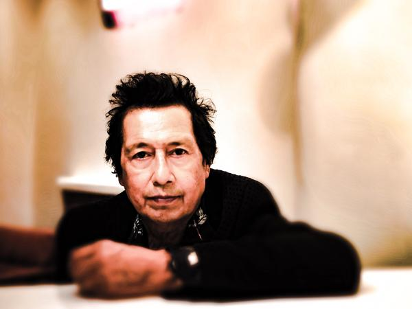 Alejandro Escovedo's new album is <em>The Crossing.</em>