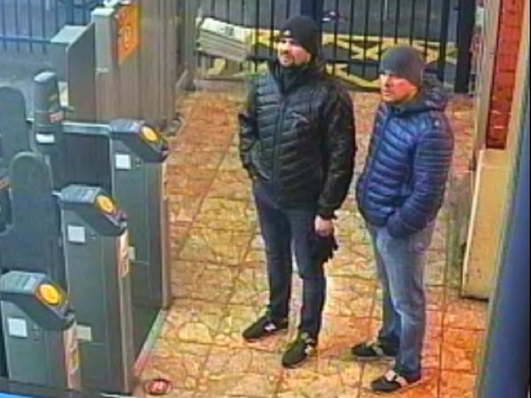 Russian President Vladimir Putin says two men identified by British police as suspects in the poisoning of a former KGB agent and his daughter are private citizens, not government agents. Scotland Yard released photos of the men last week.