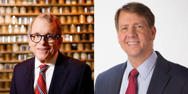 Mike DeWine (R) and Richard Cordray (D) will face off in the first gubernatorial debate on September 19.