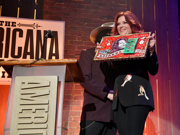 Rosanne Cash during the 2018 Americana Music Honors and Awards.