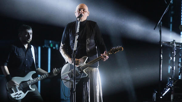 The Smashing Pumpkins' new album features Billy Corgan, James Iha and Jimmy Chamberlin with longtime guitarist Jeff Schroeder.
