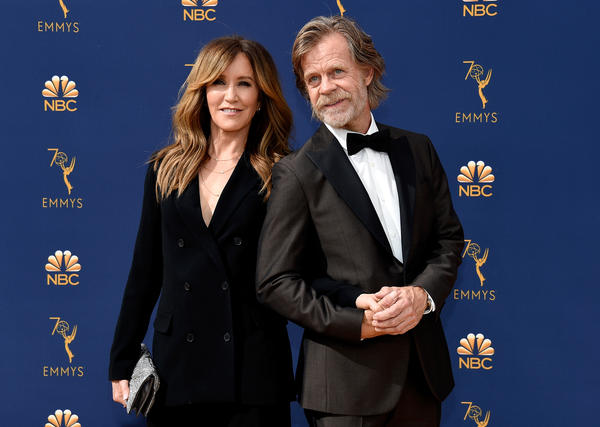 Actors Felicity Huffman and William H. Macy