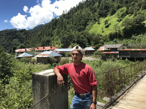 Alejandro Cano, 22, is a farmer and lives in the comfortable home his uncle constructed with money he earned working in the U.S. Cano worked as a roofer in Florida making $120 a day, until he was arrested and deported.