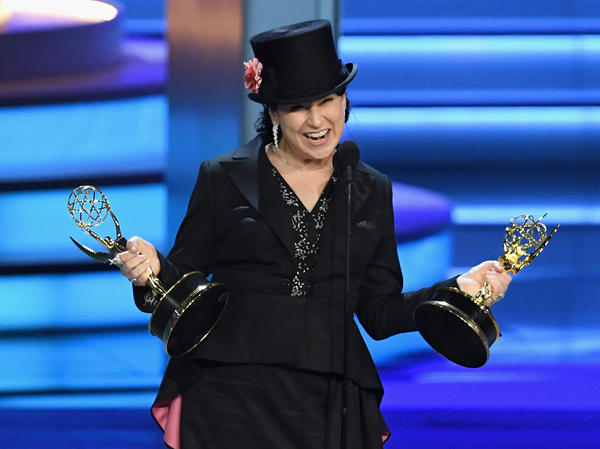 Amy Sherman-Palladino won two Emmys for writing and directing <em>The Marvelous Mrs. Maisel.</em>