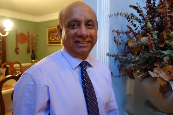 Kiran Shelat received a kidney infected with hepatitis C as part of a trial conducted by the University of Pennsylvania.
