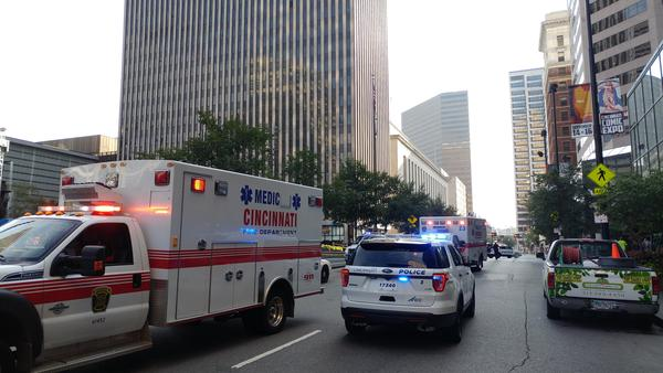 Cincinnati Police responded to a call of an active shooter at the Fifth Third Bank building on Fountain Square the morning of Thursday, September 6. The building reopened to the public Monday.