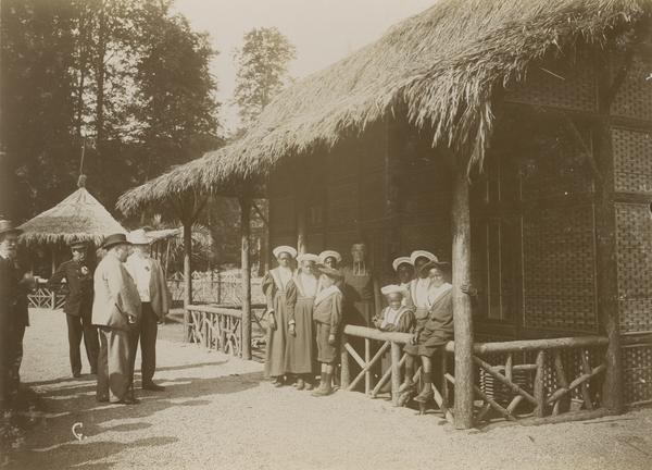 In 1897, Belgian King Leopold brought 267 Congolese people to his country estate to display them in a mock African village — a practice referred to as a human zoo.