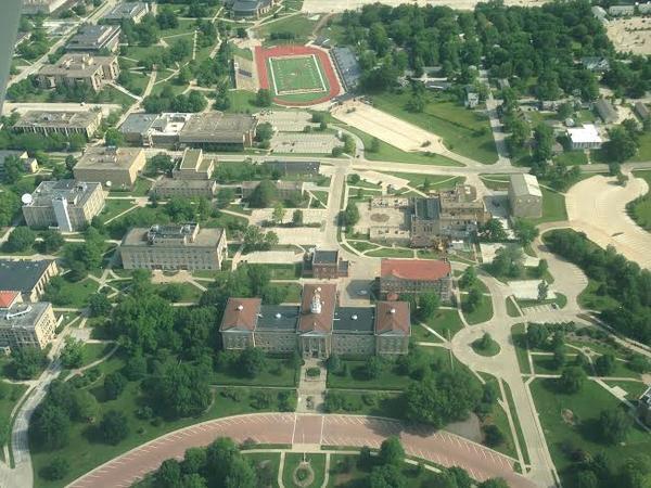 WIU's Campus in Macomb
