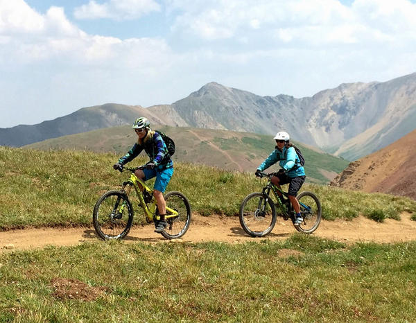 Mountain Biking In Crested Butte, Colorado