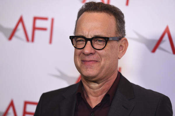 Tom Hanks arrives at the 2018 AFI Awards at the Four Seasons on Friday, Jan. 5, 2018 in Los Angeles. (Photo by Jordan Strauss/Invision/AP)