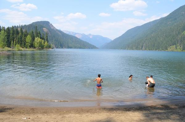 <p>Kachess Lake in the Washington Cascades draws visitors from the Puget Sound area. Farmers from the Yakima Valley want the option to draw the lake down to irrigate their crops in dry years.</p>