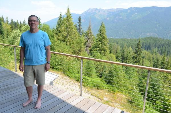 <p>Jay Schwartz owns a cabin near Kachess Lake in the Washington Cascades. He wants to keep the lake as it is for his family and others to enjoy.</p>