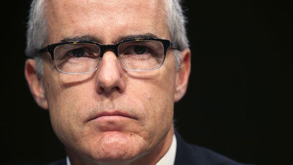 Onetime Acting FBI Director Andrew McCabe's lawyer said on Friday that he had given the memos at issue to special counsel Robert Mueller but not to the media.