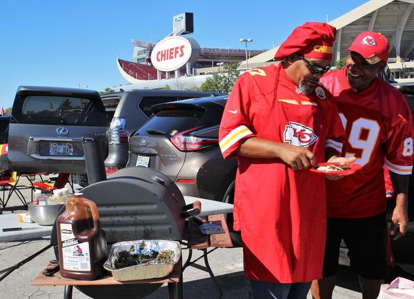 Tailgating was in full swing Sunday for the Kansas City Chiefs' first home game of the season. But a new rule may change some tailgating traditions.