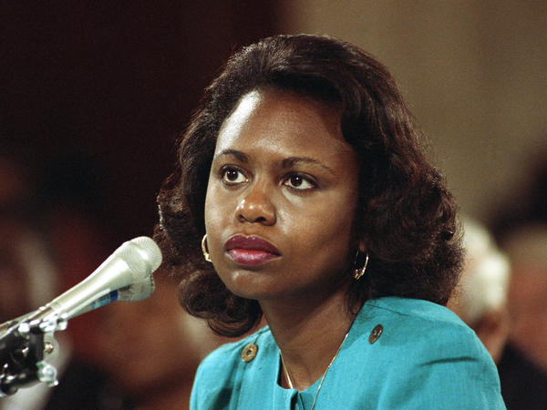 Anita Hill testified in 1991 that she was sexually harassed by then-Supreme Court nominee Clarence Thomas.