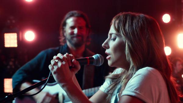Lady Gaga plays Ally in <em>A Star Is Born</em> alongside Bradley Cooper.