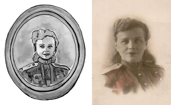 In 1950, Lola worked as a typist at the NKVD (the precursor to the KGB) and held the rank of Lieutenant in the Red Army.