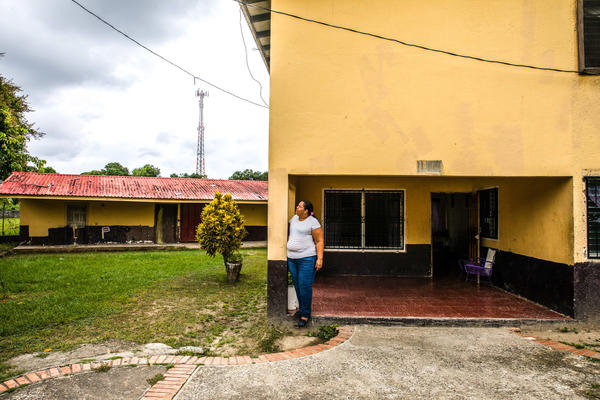 """Sandra Hernandez is the """"mom"""" for house #9 at the SOS Children's Village in Tela, Honduras. She currently looks after four teenagers."""