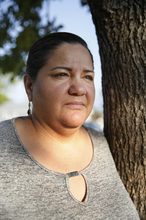 Angel's mom, Aracely, also grew up in a farmworker family. In sixth grade, her dad took her out of school to work in the fields because the family needed money.