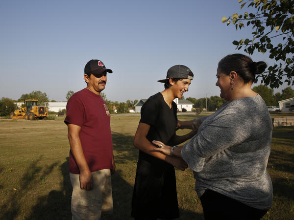 For as long as he can remember, Angel Benavides, 14, has missed the beginning of the school year in Texas because his parents, Juan and Aracely Benavides, work in North Dakota until the harvest is through.