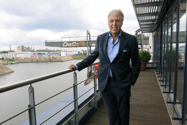 Erich Staake is the CEO of the Duisburg port, the world's largest inland port. Staake says 25 to 30 trains arrive in Duisburg each week from China.