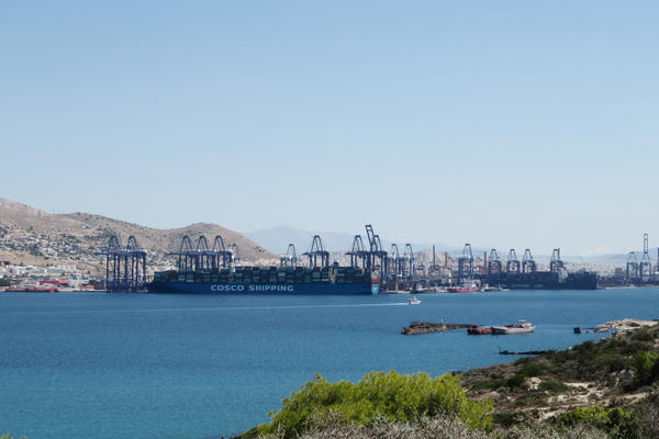 The port of Piraeus has long been a metaphor for Greece, going back to when ancient Greek warriors set off to sea battles. Today, a Chinese company holds a controlling stake in the port.