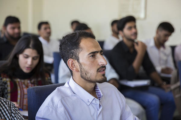 Abbas' family has invested heavily in his education, hoping that eventual fluency in Mandarin will lead to a good job that will allow him to help finance the education of his younger siblings.