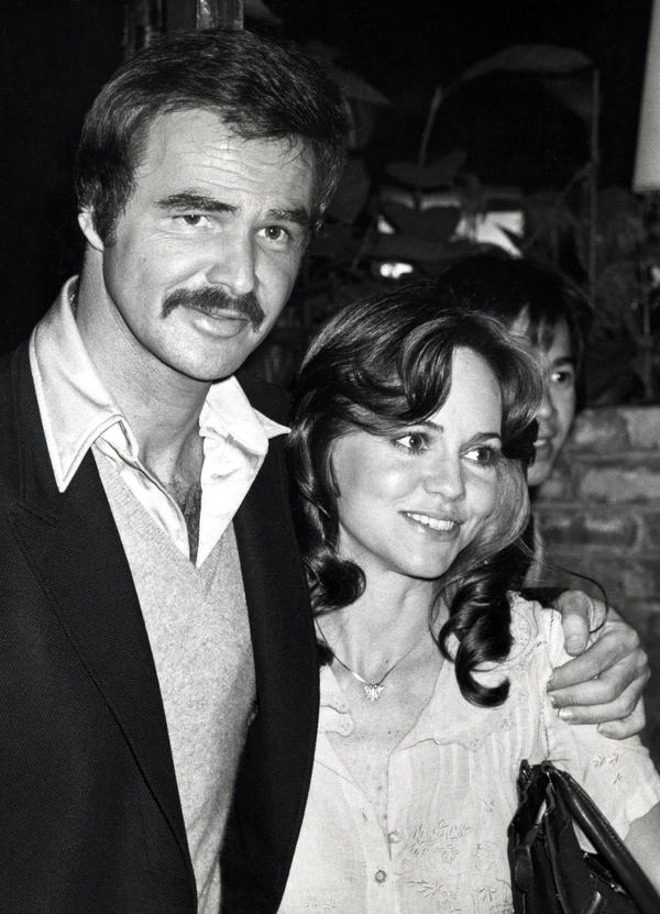 """He was a very important part of my life, but for a tiny little part of my life,"" Fields says of Burt Reynolds. They are pictured together in March 1978."
