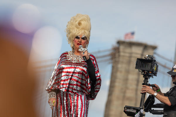 Darcelle, 88, is recognized by Guinness World Records as the oldest performing drag queen.