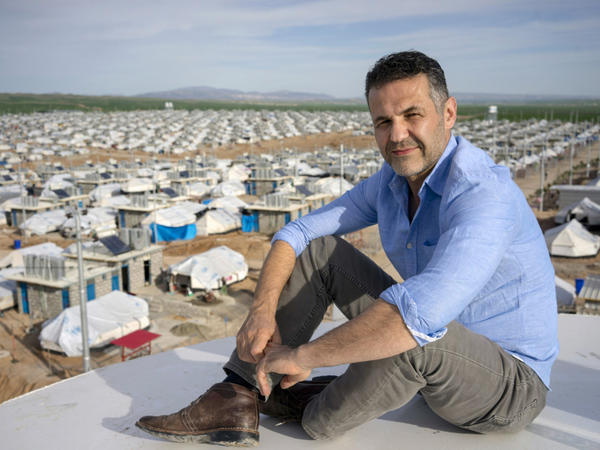 Author Khaled Hosseini's latest work <em>Sea Prayer </em>is informed by his work with the U.N. refugee agency.