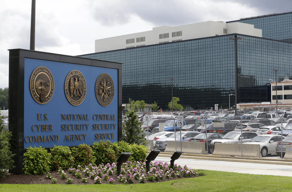 The National Security Agency campus in Fort Meade, Md. The NSA is the largest U.S. intelligence agency, with a broad mandate that touches everything from Russian hacking to cyberwarfare to privacy issues surrounding U.S. citizens.