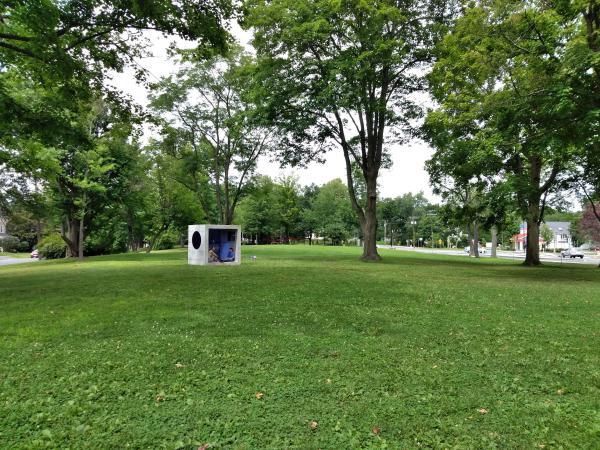 "Sarah Braman's ""Day Trip"" at Kendrick Park in Amherst, Massachusetts."