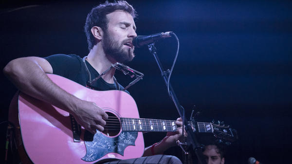 Ruston Kelly performs live on the 2018 AmericanaFest's Day Stage presented by WMOT, NPR Music and World Cafe.