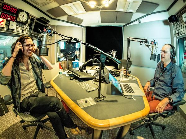 Andrew Hozier-Byrne joins NPR Music's Bob Boilen in the studio to discuss the music that informed his 2018 EP, <em>Nina Cried Power.</em>