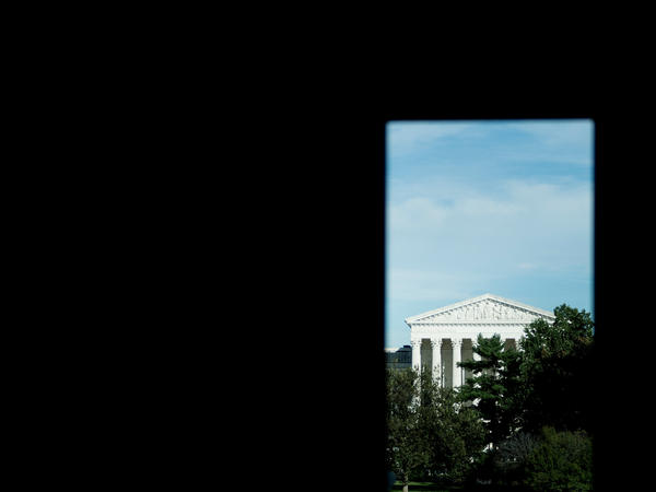 A view of the Supreme Court from Capitol Hill September 28, 2018. The Court begins its new term on Monday one justice short while the Senate remains stuck in a confirmation fight over Judge Brett Kavanaugh, who's been accused of sexual assault.
