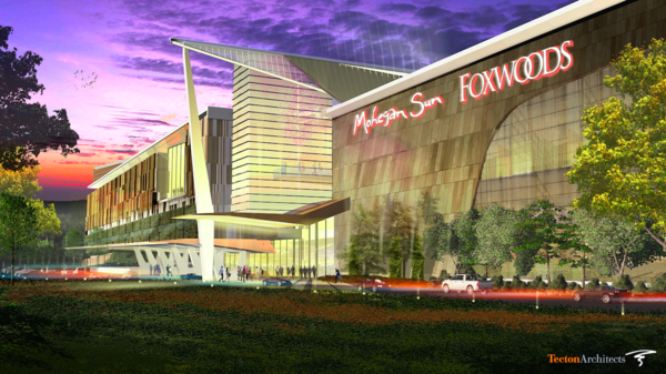 Rendering of the proposed East Windsor casino.