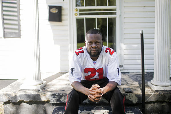 Andre Lewis is in recovery and works at a youth services agency in Dayton.