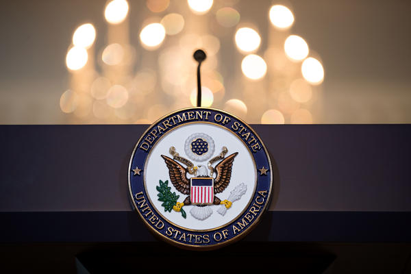 The State Department is implementing a policy denying visas to diplomats' same-sex partners if they're not legally married.