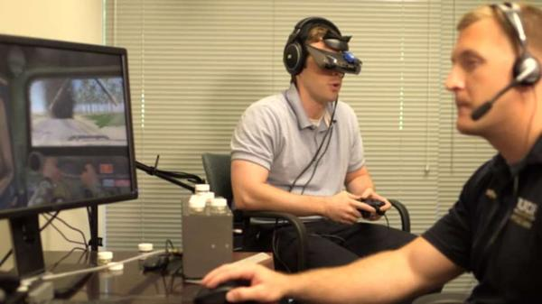 UCF Restores program uses virtual reality to help treat PTSD.